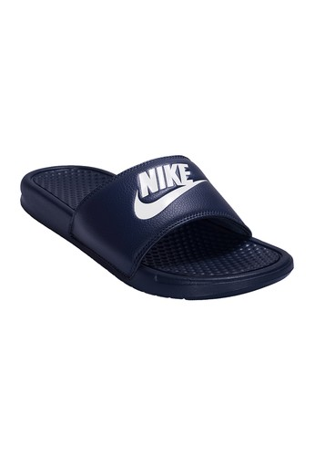 2be32adac NIKE navy NIKE Benassi JDI Slide Men s Sandals NI083SH00SEBTH 1