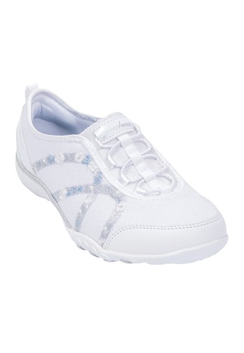 timeless design 21977 8ec1e SKECHERS white SKECHERS Relaxed Fit  Breathe-Easy-Garden Joy WA Women s  Casual Shoes