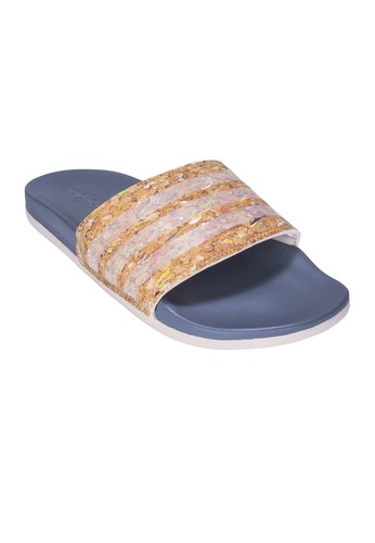 9e0a943dafde ADIDAS grey and white ADIDAS Adilette Cloudfoam Plus Cork Slides Women s  Sandals AD001SH948ADTH 1