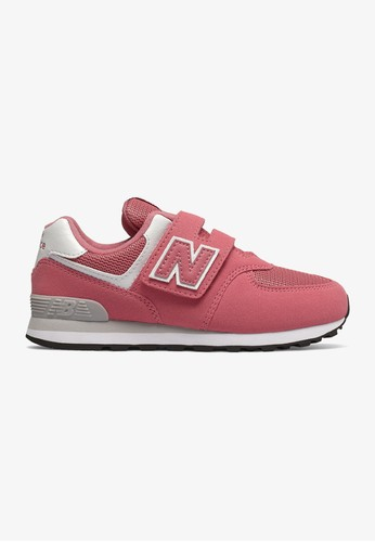 29b854812a Shop NEW BALANCE 574 Wide Kids Casual Shoes for 1,990.00 THB Online ...