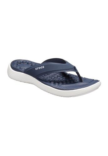 0dc4b6754e54 CROCS navy CROCS Reviva Flip Women s Sandals CR024SH594AOTH 1