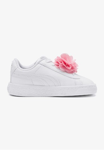 Basket Flower AC PS Girls Casual Shoes