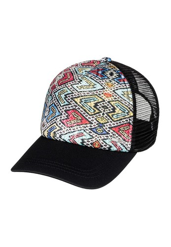 73f3104f8f7 ROXY black and white ROXY Women s Trucker Hat Water Come Down  RO101AC425AETH 1