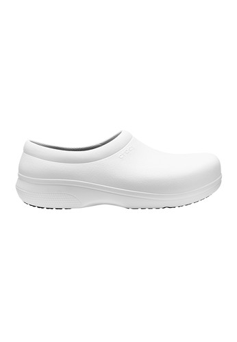 ea395cdfc424bc Shop CROCS CROCS Unisex s Casual Shoes On-The-Clock Work Slip-Ons 205073  White for 999.00 THB Online