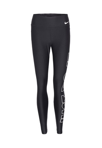791aae3ebcf1fe NIKE black NIKE Power Tights Poly Just Do It GRX Women s Training Long  Pants NI083AP955AVTH 1