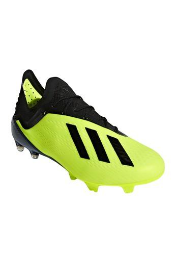promo code 4efaf d28db ADIDAS green X 18.1 (FG) Men s Football Shoes AD001SH581AJTH 1