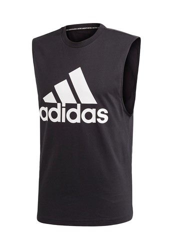 1cea3a0226619 ADIDAS black ADIDAS Must Haves Badge of Sport Men s Training Tank  AD001AP811AVTH 1
