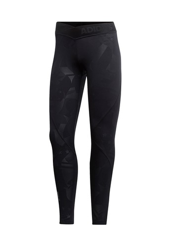 1b256dae4e ADIDAS black Alphaskin Sport 2.0 Embossed 7/8 Tights Women's Running Pants  AD001AP290A0TH_1